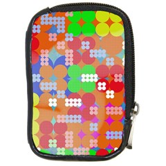 Abstract Polka Dot Pattern Compact Camera Cases