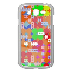 Abstract Polka Dot Pattern Samsung Galaxy Grand DUOS I9082 Case (White)