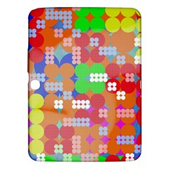 Abstract Polka Dot Pattern Samsung Galaxy Tab 3 (10.1 ) P5200 Hardshell Case