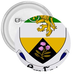 County Offaly Coat of Arms  3  Buttons