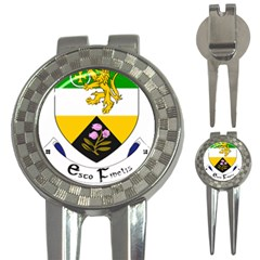 County Offaly Coat of Arms  3-in-1 Golf Divots