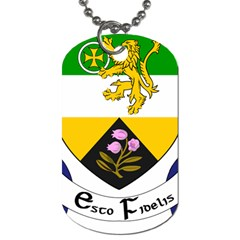 County Offaly Coat Of Arms  Dog Tag (two Sides)