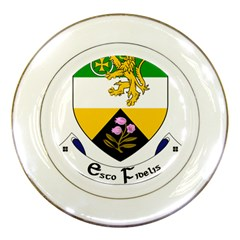 County Offaly Coat of Arms  Porcelain Plates