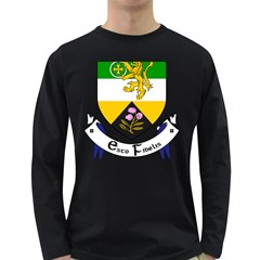 County Offaly Coat of Arms  Long Sleeve Dark T-Shirts
