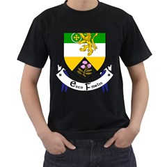 County Offaly Coat of Arms  Men s T-Shirt (Black)