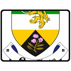 County Offaly Coat of Arms  Fleece Blanket (Large)