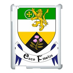 County Offaly Coat of Arms  Apple iPad 3/4 Case (White)