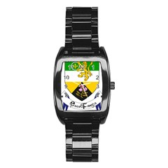 County Offaly Coat of Arms  Stainless Steel Barrel Watch