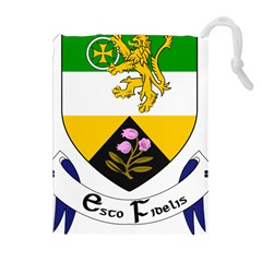County Offaly Coat of Arms  Drawstring Pouches (Extra Large)