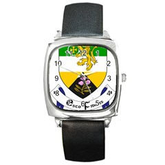 County Offaly Coat of Arms  Square Metal Watch