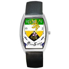 County Offaly Coat of Arms  Barrel Style Metal Watch
