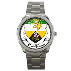 County Offaly Coat of Arms  Sport Metal Watch