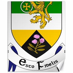 County Offaly Coat Of Arms  Canvas 11  X 14
