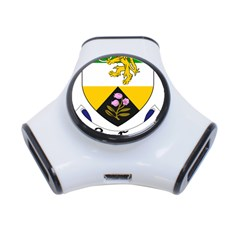 County Offaly Coat of Arms  3-Port USB Hub