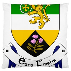 County Offaly Coat of Arms  Large Flano Cushion Case (Two Sides)