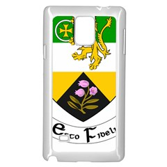 County Offaly Coat of Arms  Samsung Galaxy Note 4 Case (White)