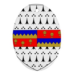 County Tipperary Coat of Arms  Ornament (Oval)