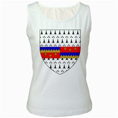 County Tipperary Coat of Arms  Women s White Tank Top