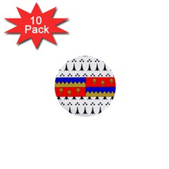 County Tipperary Coat of Arms  1  Mini Buttons (10 pack)
