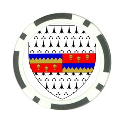 County Tipperary Coat of Arms  Poker Chip Card Guard (10 pack)