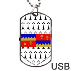 County Tipperary Coat of Arms  Dog Tag USB Flash (One Side)