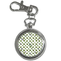 Leaves Motif Nature Pattern Key Chain Watches