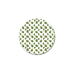 Leaves Motif Nature Pattern Golf Ball Marker (4 pack)