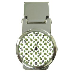 Leaves Motif Nature Pattern Money Clip Watches