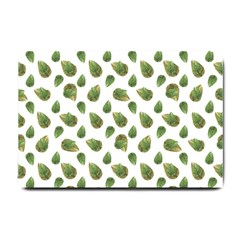 Leaves Motif Nature Pattern Small Doormat