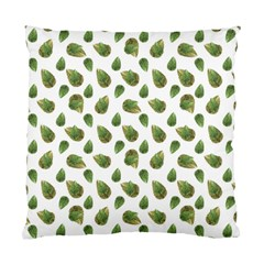 Leaves Motif Nature Pattern Standard Cushion Case (Two Sides)