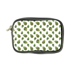 Leaves Motif Nature Pattern Coin Purse