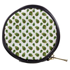 Leaves Motif Nature Pattern Mini Makeup Bags
