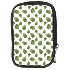 Leaves Motif Nature Pattern Compact Camera Cases