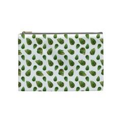 Leaves Motif Nature Pattern Cosmetic Bag (Medium)