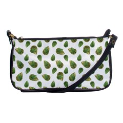 Leaves Motif Nature Pattern Shoulder Clutch Bags