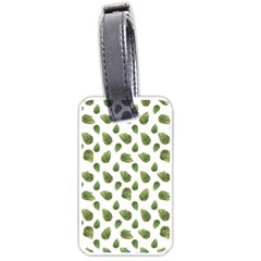 Leaves Motif Nature Pattern Luggage Tags (One Side)