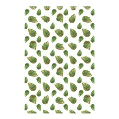 Leaves Motif Nature Pattern Shower Curtain 48  x 72  (Small)