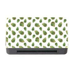 Leaves Motif Nature Pattern Memory Card Reader with CF