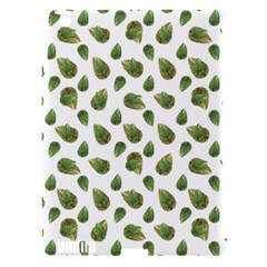 Leaves Motif Nature Pattern Apple iPad 3/4 Hardshell Case (Compatible with Smart Cover)