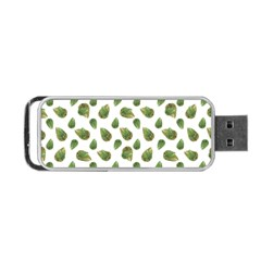 Leaves Motif Nature Pattern Portable USB Flash (One Side)