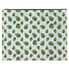 Leaves Motif Nature Pattern Cosmetic Bag (XXXL)
