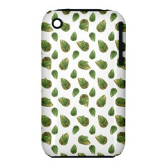 Leaves Motif Nature Pattern iPhone 3S/3GS