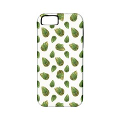 Leaves Motif Nature Pattern Apple iPhone 5 Classic Hardshell Case (PC+Silicone)