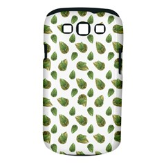 Leaves Motif Nature Pattern Samsung Galaxy S III Classic Hardshell Case (PC+Silicone)