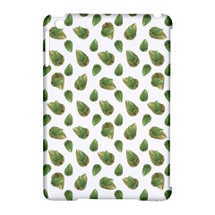 Leaves Motif Nature Pattern Apple iPad Mini Hardshell Case (Compatible with Smart Cover)