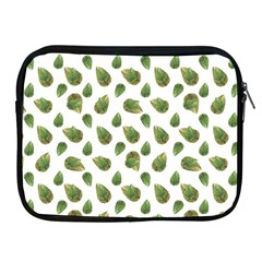Leaves Motif Nature Pattern Apple iPad 2/3/4 Zipper Cases