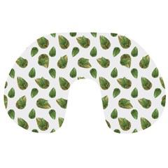 Leaves Motif Nature Pattern Travel Neck Pillows