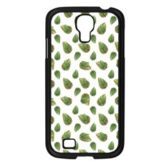 Leaves Motif Nature Pattern Samsung Galaxy S4 I9500/ I9505 Case (Black)