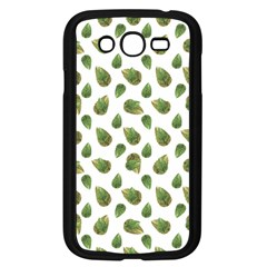 Leaves Motif Nature Pattern Samsung Galaxy Grand DUOS I9082 Case (Black)