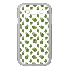 Leaves Motif Nature Pattern Samsung Galaxy Grand DUOS I9082 Case (White)
